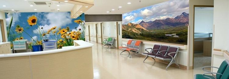 automatic wall drawing machine for hospital