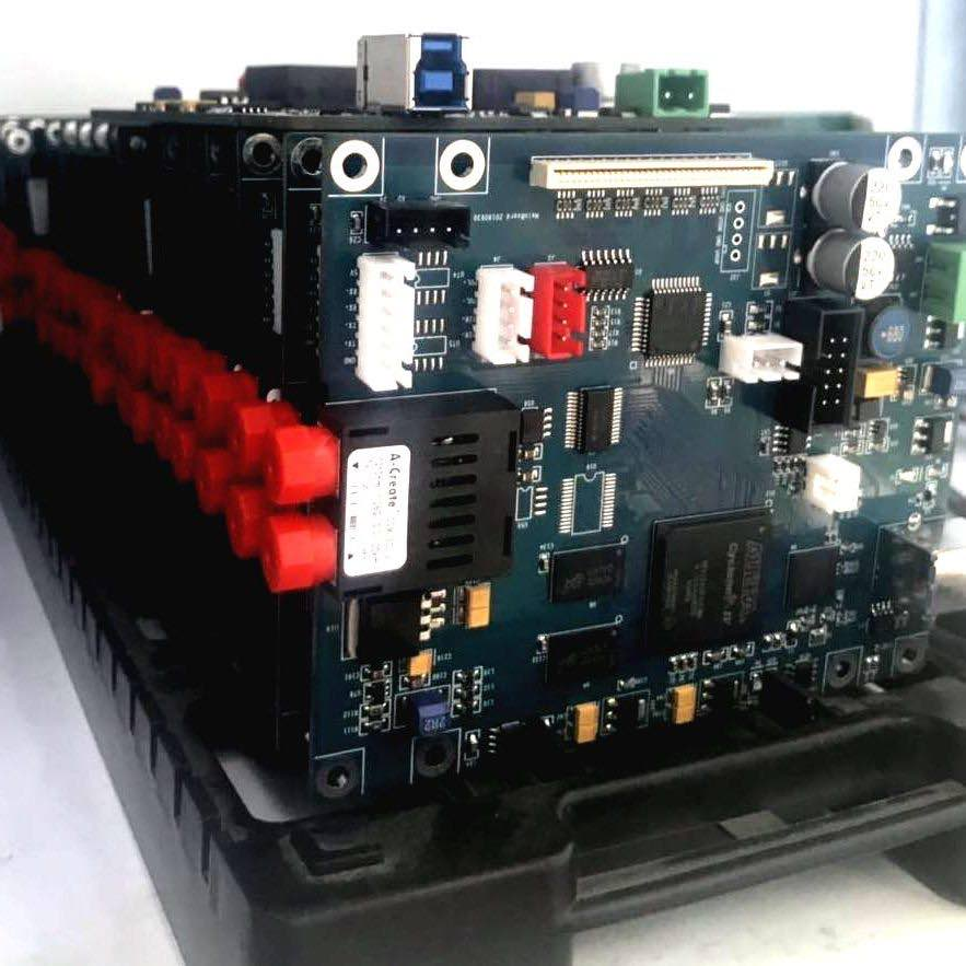 Motherboard of wall printer